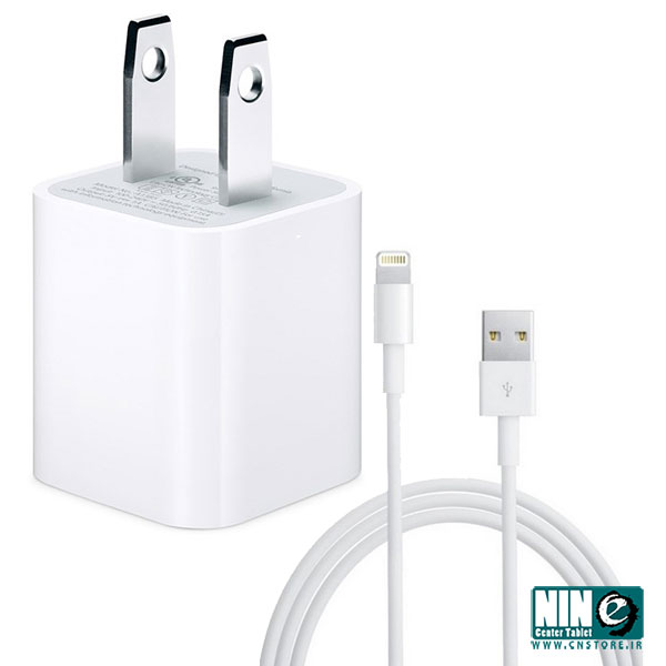 اپل/شارژر تبلت و موبایل/Apple A1385 USB Power Adapter Wall Charger With Cable