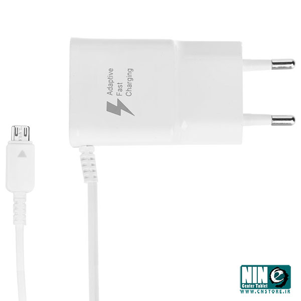 سامسونگ/شارژر تبلت و موبایل/Samsung ETA-U90E WE Wall Charger With MicroUSB With Integral Cable