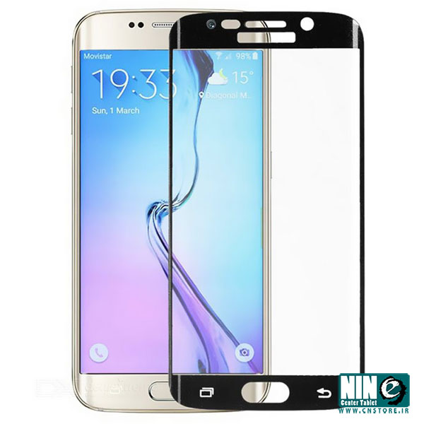سامسونگ/صفحه نمایش/ Glass Screen Protector For Samsung Galaxy S6 Edge Plus