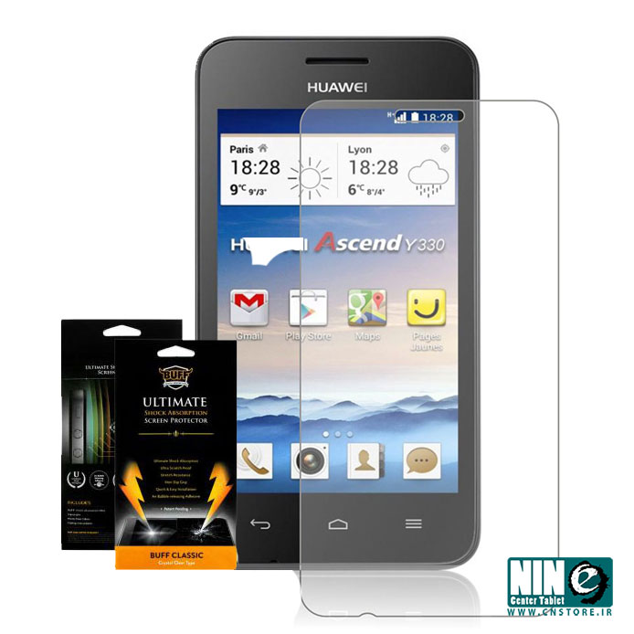 هوآوی/صفحه نمایش/Buff Screen Protector For Huawei Ascend Y330