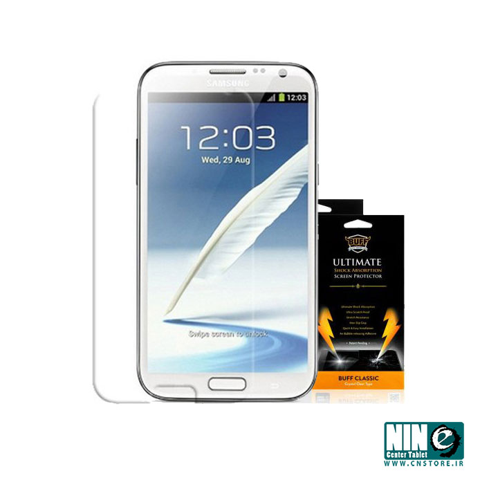 سامسونگ/صفحه نمایش/Buff Screen Protector For Samsung Galaxy Note 2 N7100