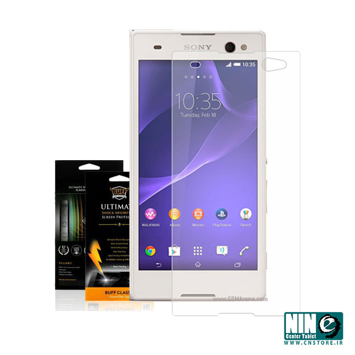 سونی/صفحه نمایش/Buff Screen Protector For Sony Xperia C3 D2533