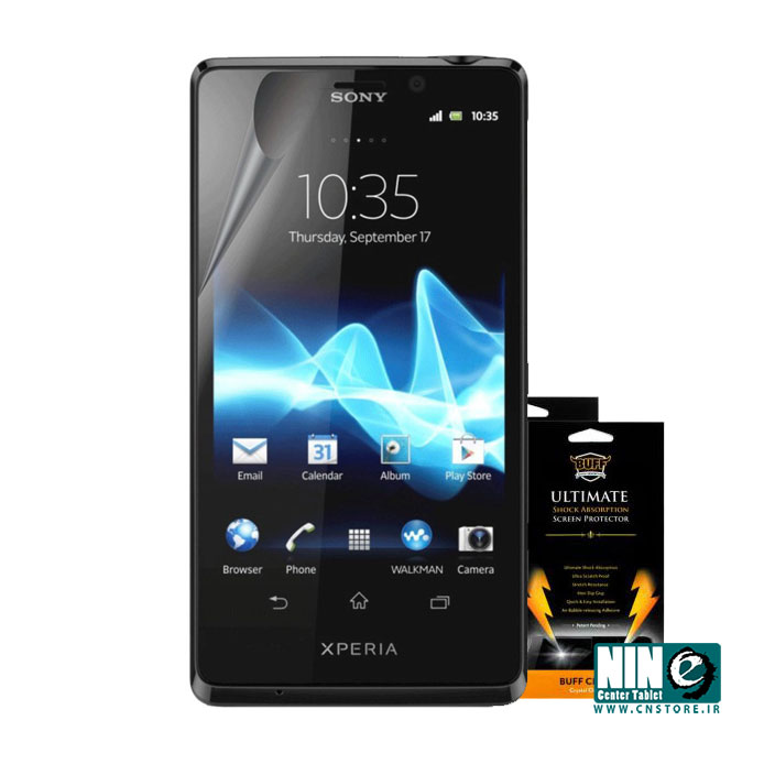 سونی/صفحه نمایش/Buff Screen Protector For Sony Xperia LT30P
