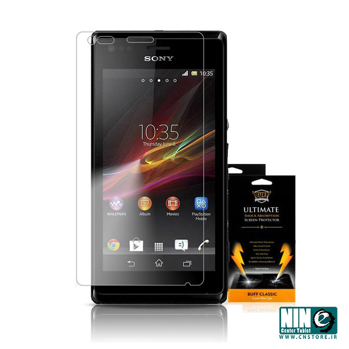 سونی/صفحه نمایش/Buff Screen Protector For Sony Xperia M C1904