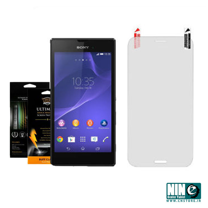 سونی/صفحه نمایش/Buff Screen Protector For Sony Xperia T3 M50W