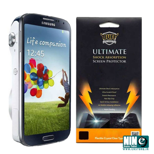 سامسونگ/صفحه نمایش/Buff Screen Protector For Samsung Galaxy S4 Zoom