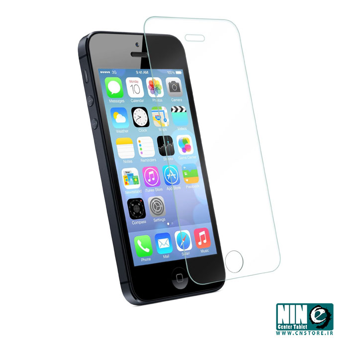 اپل/صفحه نمایش/Glass Screen Protector for iPhone 5S / 5C / 5 Premium Crystal Clear
