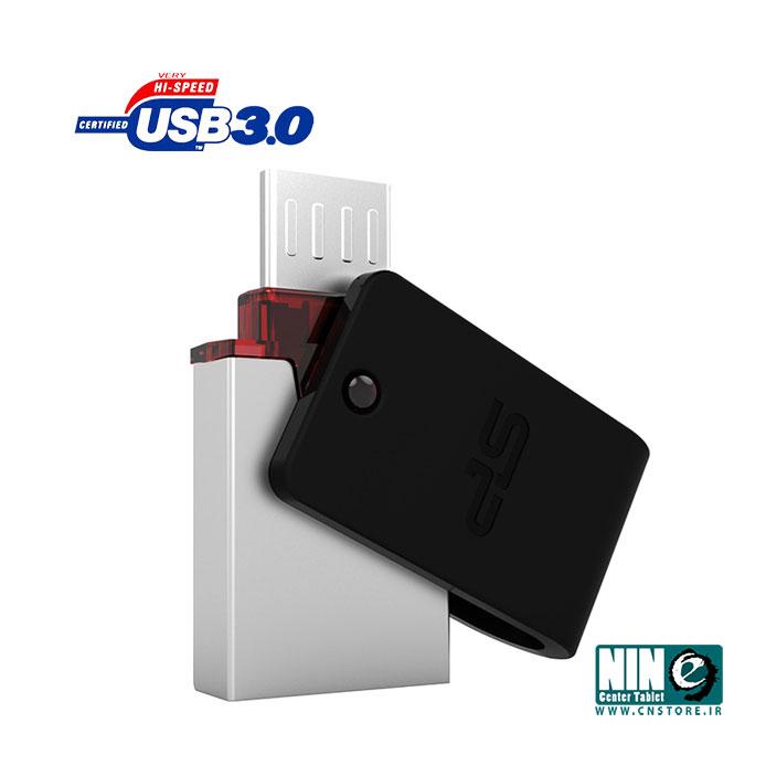 سیلیکون پاور/فلش مموری/Silicon Power Mobile X31 USB 3.0 OTG Flash Memory - 32GB