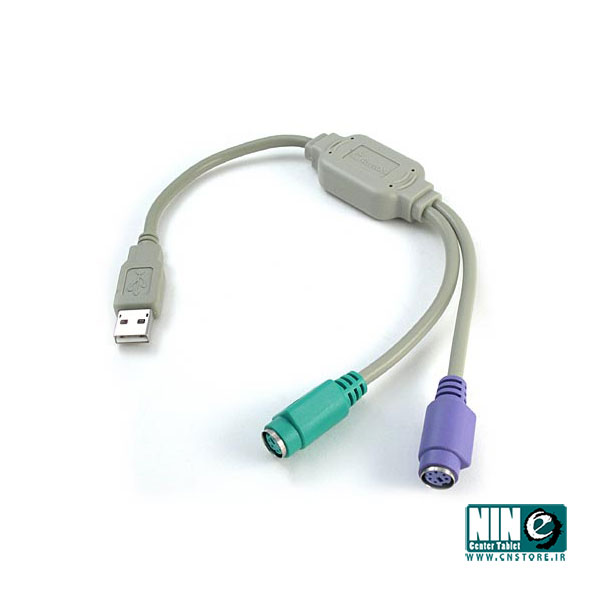 متفرقه/مبدل/USB to PS2 converter / Cable for Keyboard and Mouse