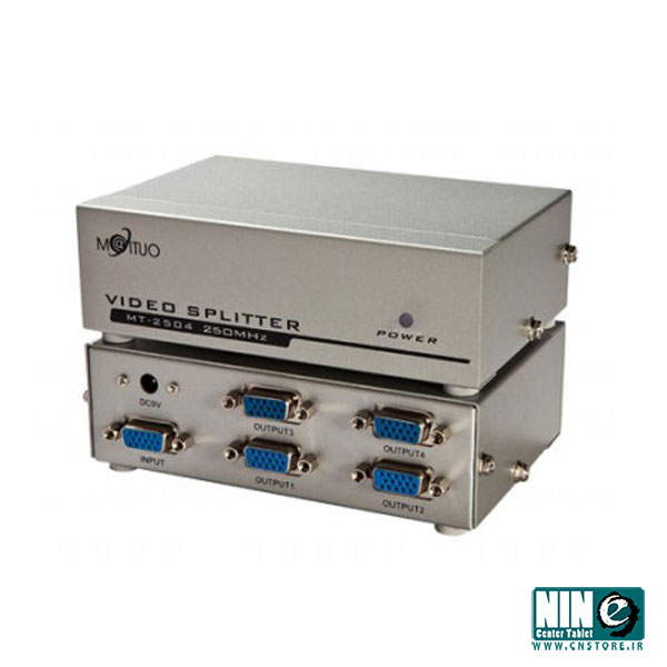 متفرقه/مبدل/VGA Splitter 4 Port - 250MHz