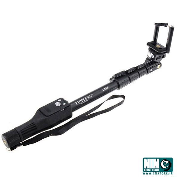 یانتنگ/پایه نگهدارنده/Yunteng YT-1288 Monopod With Zoom Controller Remote