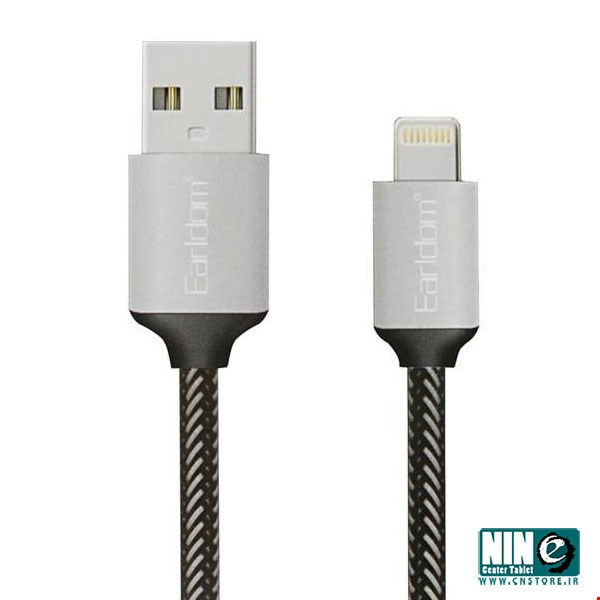ارلدام/کابل شارژ/Earldom EC-013i USB To Lightning Cable 30cm