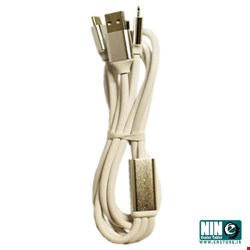 ارلدام/کابل شارژ/Earldom EC-IMC01 MicroUSB/USB-C/Lightning Cable 1.2m