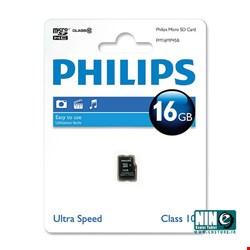 فیلیپس/کارت حافظه/Philips Micro SD Card FM16MD45B Class10 16GB