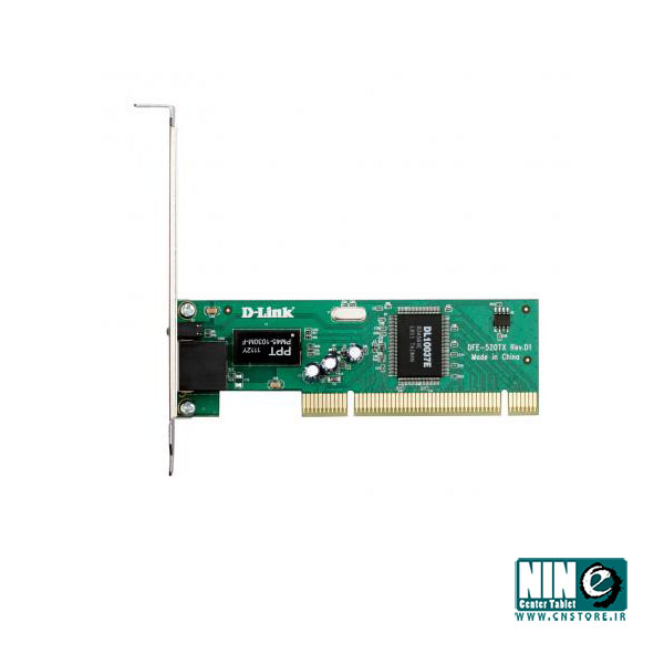 دی-لینک/کارت شبکه/D-Link DFE-520TX 10/100Mbps Ethernet PCI Card for PC