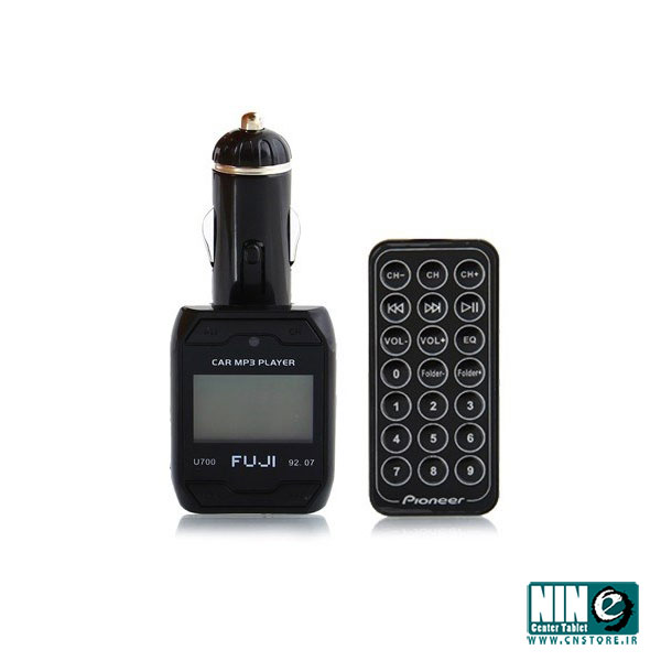 متفرقه/ لوازم جانبی خودرو/Car Player FM FUJI U-700 Transmitter with Remote Control