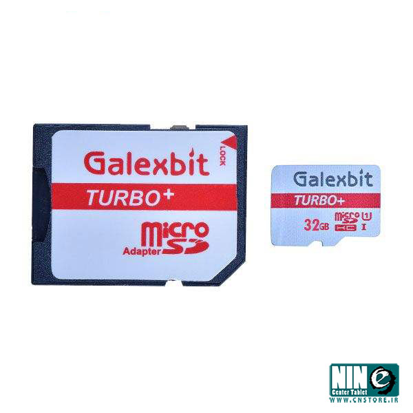 گلکسی بیت/کارت حافظه/Galexbit UHS-I U1 Class 10 80MBps microSDHC Turbo Plus With Adapter - 32GB